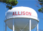 Allison Water Tower
